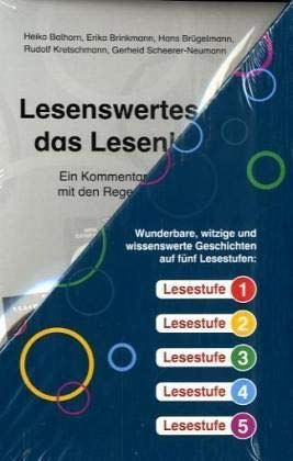 Regenbogen-Lesekiste I. Lesestoff für Erstleser in den Lesestufen 1 bis 5: 40 Hefte à 16 S., plus Lehrerband, im Schuber Klasse 1/2 (Worte Des Regenbogens)