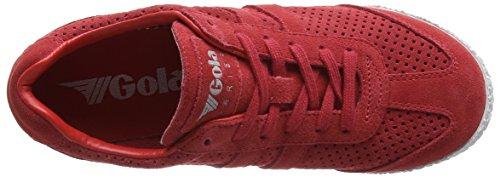 Gola Harrier Squared - Scarpe da Ginnastica Basse donna Rosso (Red)