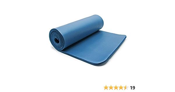 Fitnessmatte Yogamatte Gymnastikmatte Sportmatte Boden Gym Matte hellblau NEU