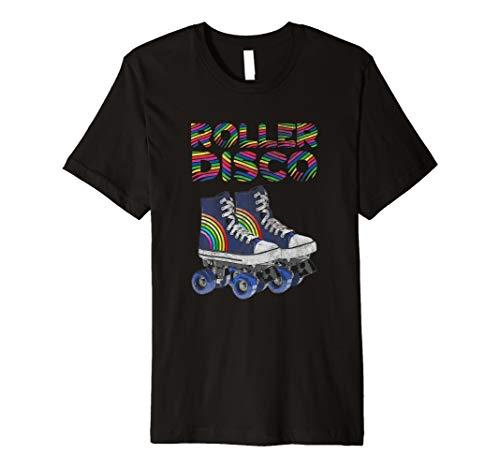 Rollschuh Retro Vintage 60er 70er 80er Jahre T-Shirt (Jahre 70er Jean)