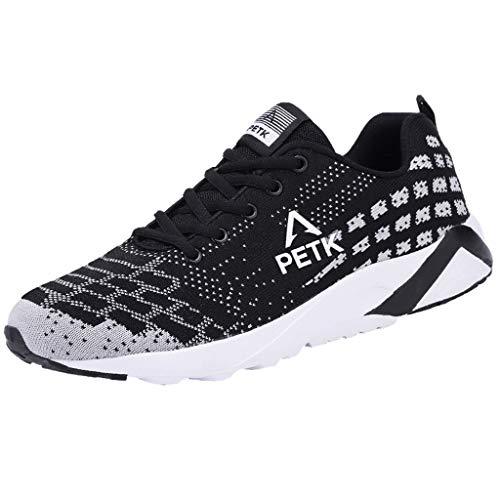MISSQQScarpe da Ginnastica Uomo Donna Scarpe per Correre Running Corsa Sportive Sneakers Trail Trekking Fitness Casual