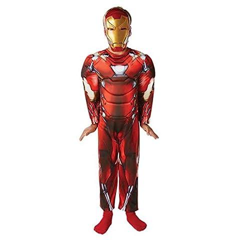 Super Deluxe Iron Man Costume - Déguisement Iron Man enfants Costume enfant Iron