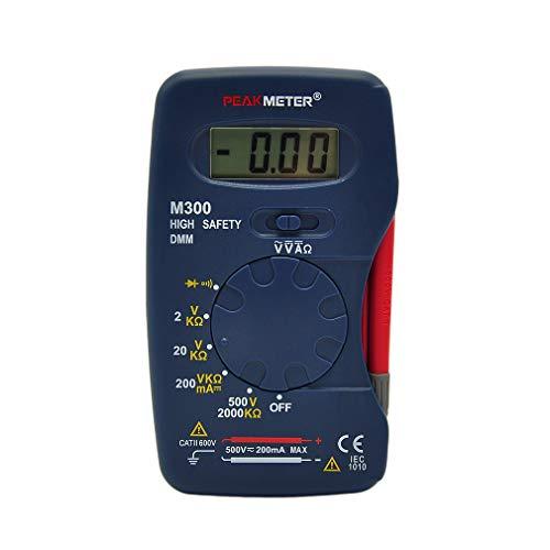 1 Satz Professionelle M300 Mini Handheld Digital LCD Multimeter DMM DC AC Meter Amperemeter Ohmmeter Voltmeter Tester Multimetro