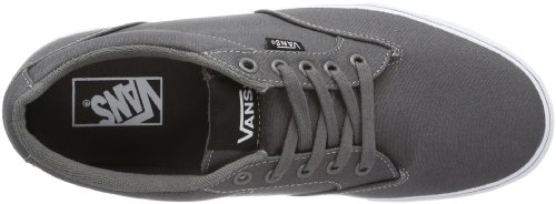 Vans M Winston, Baskets mode homme Gris (Pewter/White)