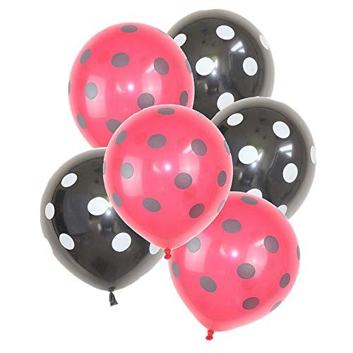 käfer Welle Punkt Latex Ballon Geburtstag Abschlussfeier Ballon Hochzeitstag Dekoration ()
