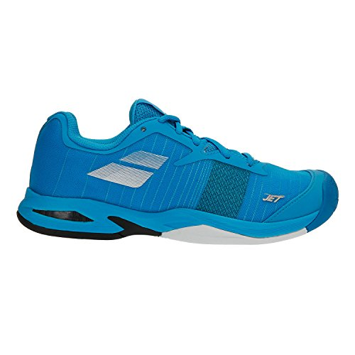 Babolat Scarpe Tennis Jet All Court Junior Divablue/White (EU 35.5)