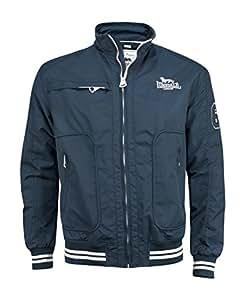 Lonsdale Mens Jacket Thomson, Farbe:navy, Größe:xxxl