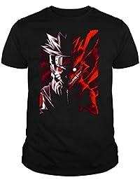 The Fan Tee Camiseta de Hombre Naruto Manga Anime