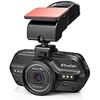 TrueCam A7s GPS Professionelle Dashcam Autokamera 2K Super HD (FULL HD 1080p bei 21:9 Super Breitbild) mit Blitzerwarner