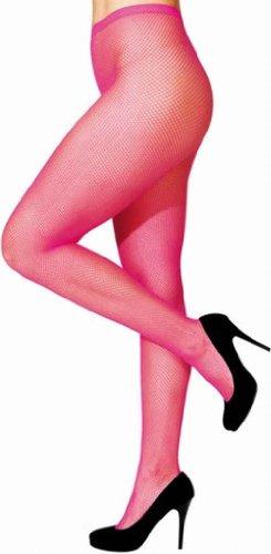 Netzstrumpfhose pink 1 Stück (Netzstrumpfhose Rosa)