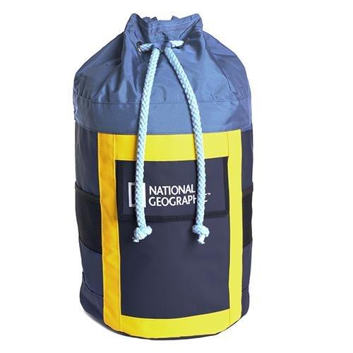 National Geographic - Sacca Con Logo Sailor Blu E Giallo 30X61X30 Cm
