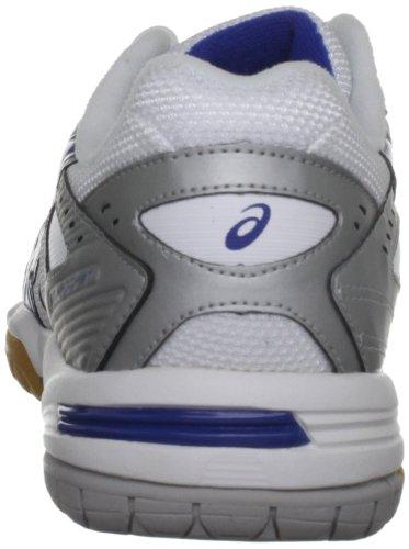 Asics Gel Rocket M, Chaussures de Gymnastique Homme Argent - Argento (Silver/Blue/White)