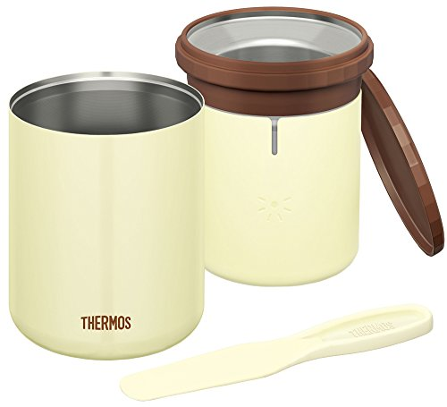 THERMOS Vacuum insulation Ice cream maker KDA-200 CK (cookie)?Domestic Japan Genuine? (Japan Ice Cream Maker)