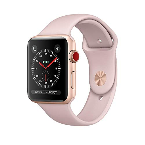 Apple Smart Watch Rubber Band - Apple Smart Watch Rubber Band For iOS,Gold - MQKW2