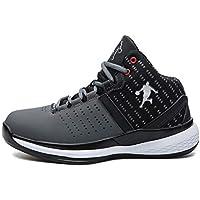 Zapatos de Baloncesto para Hombres Zapatos Deportivos de Alta Resistencia al Desgaste Zapatos Casuales con Cordones Zapatillas Deportivas Zapatillas de Deporte Masculinas