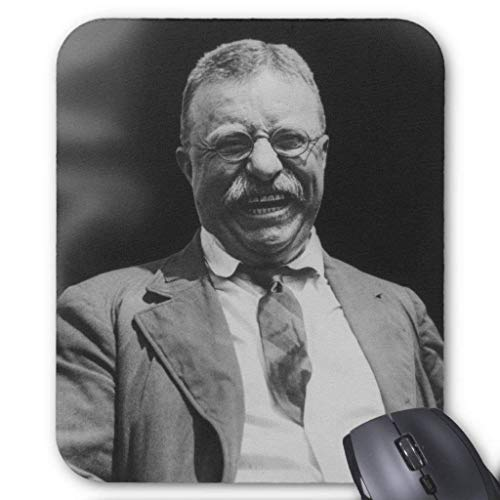 Wristband U.s. President Theodore Teddy Roosevelt Laughing Mouse Pad Computer Accessories Anti-Friction 18X22 (Teddy Roosevelt, Kinder)