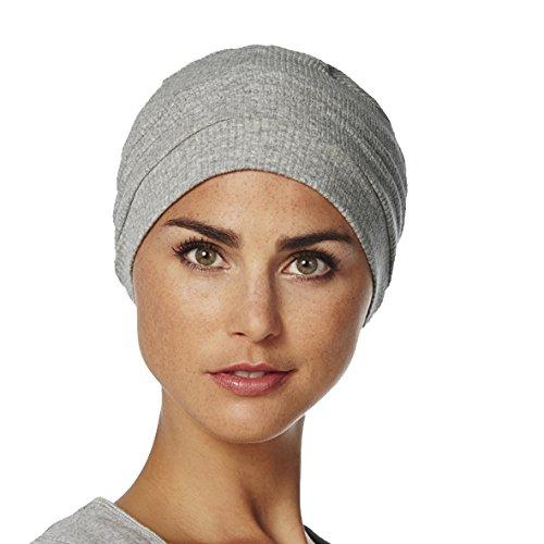 Copricapo in cotone chemoterapia Vitale grigio chiaro