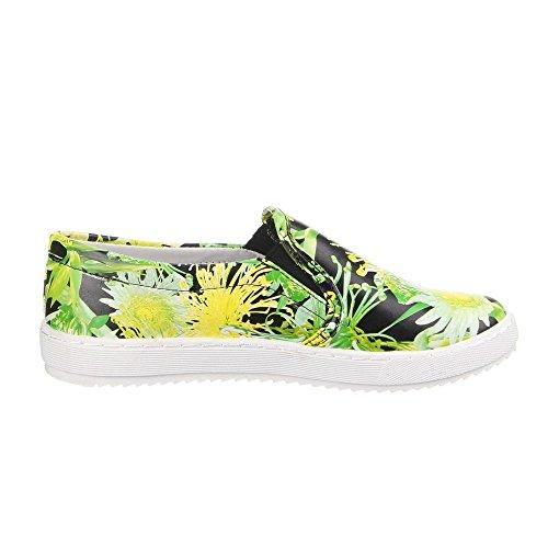 Ital-w-37, chaussures Multicolore - Grün Multi