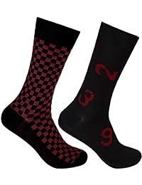 Supersox Men's Regular Length Socks (Pack of 2)