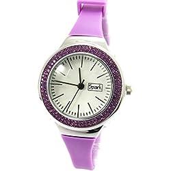 Dual watch 'Sissi' purple lilac.