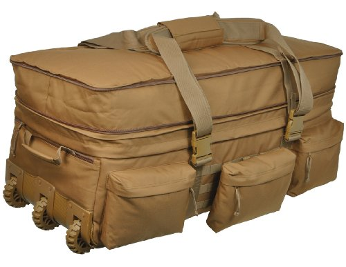 Sandpiper of California Rolling loadout Gepäck X-Large Tasche, Unisex, braun
