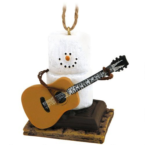 Midwest-CBK Weihnachtsdekoration S 'mores Gitarre Weihnachten/EVERYDAY Ornament