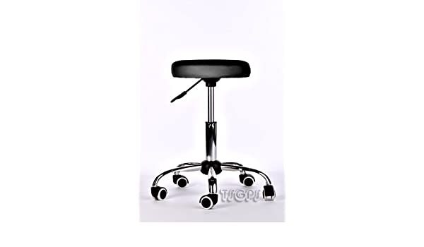 Tsgps kingpower sgabello pedicure manicure lettino massaggio nero