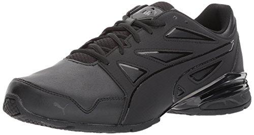PUMA Men's Tazon Modern Fracture Sneaker, Puma Black, 12 M US