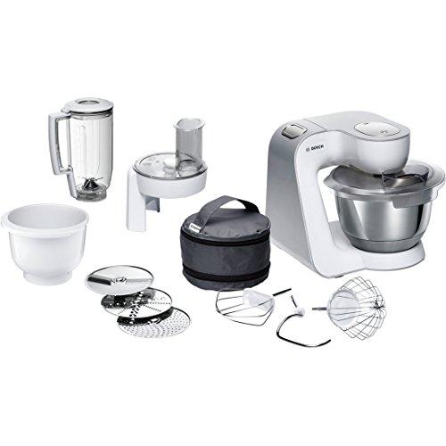 Bosch mum58234-Küchenmaschine (Farbe Weiß, Edelstahl, massive, Mix)