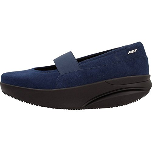 MBT Aleela 6s Slip On W, Mary Jane Donna Blu (Midnight Blue)