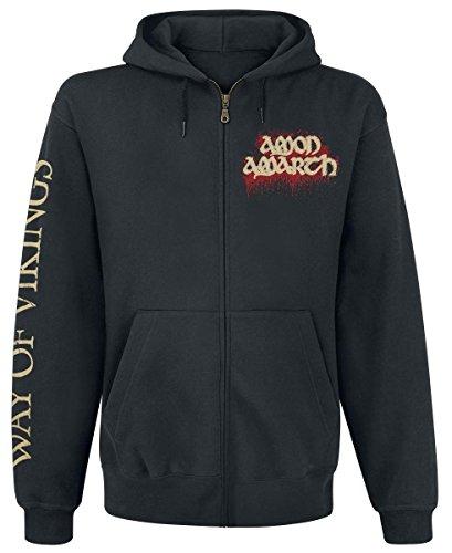 Amon Amarth Way Of Vikings Felpa jogging nero XXL