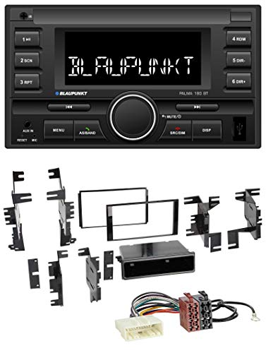Palma 190 BT MP3 USB 2DIN Bluetooth AUX Autoradio für Nissan Quest Rogue Titan ab 11 ()