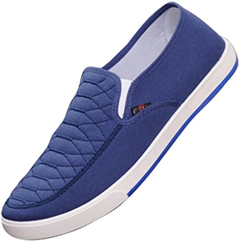 Hibote Herren Damen Freizeitschuhe Atmungsaktiv Sneaker   Unisex Flache Schuhe Leicht Loafer Arbeitsschuhe Classic