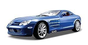 Maisto- Mercedes-Benz SLR Mclaren, Color Azul (36653S)