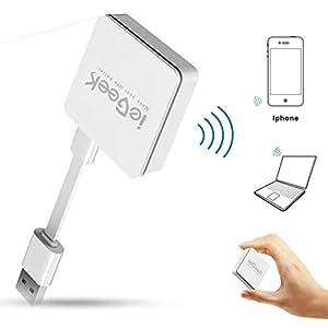 ieGeek Ripetitore Wi-Fi Nano Router Universale da viaggio 300Mbps Amplificatore segnale 802.11b/g/n Porta Lan AP Portatile Facile da configurare