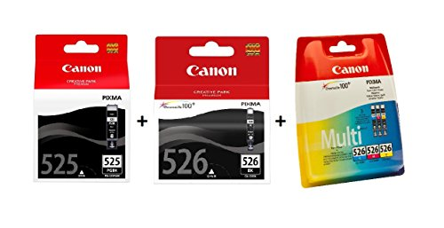 Canon - PGI-525/CLI-526 - Cartouche d'Encre d'Origine - Multipack