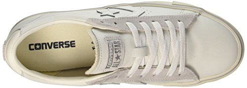 Converse Herren Pro Leather Vulc Ox Sneakers Weiß (White/mouse/turtledove)