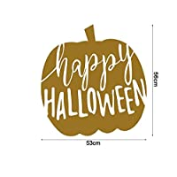BRZM Party creative gifts Halloween Wall Art Wall Mirror Window Sticker Removable Sticker Home Adornment Festival Supplies