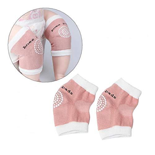2ST / Paar Baby-Knie-Pad Sicherheit Krabbeln Elbow Kissen Kleinkind Kleinkinder-Bein-Wärmer Knie Anti-Rutsch-Schutz Elbow