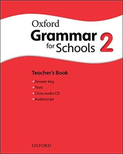 Oxford Grammar for Schools 2. Teacher's Book & Audio CD Pack
