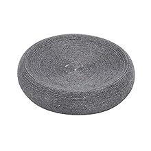 Wenko Soap Dish Goa in Grey, Polyresin, 12.8 x 12.8 x 3.1 cm
