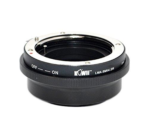 Objektivadapter mit Blendenring zur Verwendung von Sony Minolta AF Objektiven an Sony...