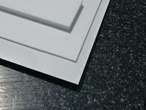 platte aus ptfe wei 1200 x 600 x 1 mm teflon zuschnitt ptfe dichtung alt intech. Black Bedroom Furniture Sets. Home Design Ideas