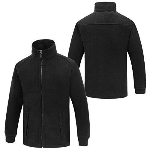aqua-fleece-jacket-zip-up-coat-deluxe-360gsm-microfleece-industry-standard-black-size-large-comes-wi