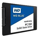 WD WDS250G1B0A Blue Unità a Stato Solido Interno da 250 GB, SATA 6 Gb/s, 2.5' immagine