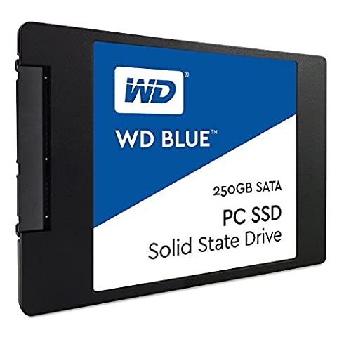 WD 250 GB 2.5-Inch Internal Solid State Drive - Blue