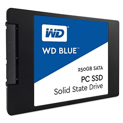 Western Digital WDS250G1B0A 2.5 7mm SATA 3G 250 GB SSD blau