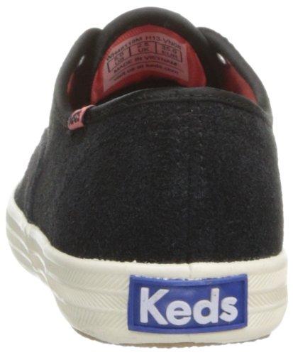 Keds Champion CVO Suede WH48118 Damen Sneaker Schwarz (Black)
