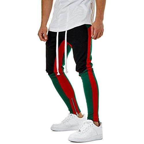 Pantalones De CháNdal De Hombres ZARLLE Moda Pantalones De Deporte Pantalones Jogger...