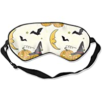 Bequeme Schlafmasken mit Halloween-Muster, bedruckte Schlafmaske für Reisen, Mittagsschlaf oder Mediation oder... preisvergleich bei billige-tabletten.eu
